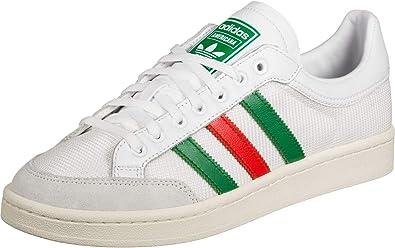 adidas Chaussures Basse Americana low, homme, EF2509, Blanc/vert ...