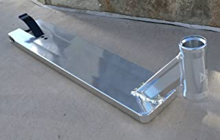 DIS Street Scooter Deck - Silver 5.0 inches Wide - 21.0 inches Long