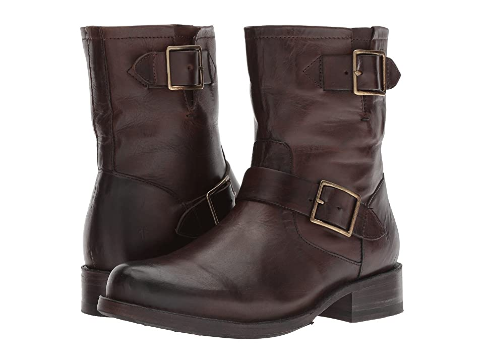 Frye Vicky Engineer (Chocolate) Women