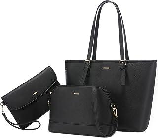 LOVEVOOK Handtasche Damen Gross Handtaschen Set Taschen groß Handtaschen für Frauen Damen-henkeltaschen Shopper Schulterta...