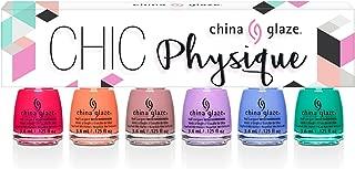 China Glaze Nail Lacquer CHIC PHYSIQUE 6pcs Mini Kit