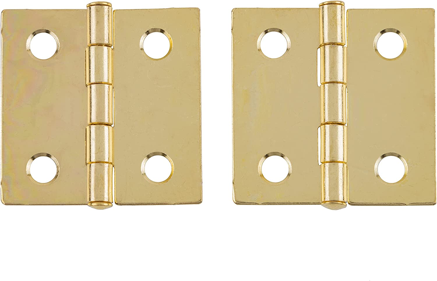 Seattle Mall Bright Brass Butt Hinge 1 Free shipping anywhere in the nation 2