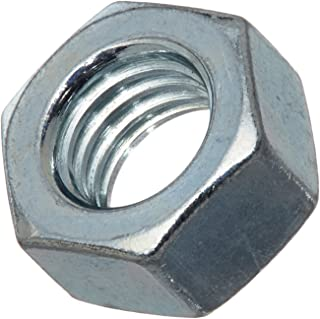 M14-2 Thread Size Small Parts Metric 22 mm Width Across Flats Steel Hex Nut Class 10 Pack of 10 DIN 934 Zinc Yellow-Chromate Plated 11 mm Thick