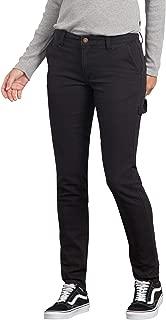 dickies Women's Slim Straight Stretch Duck Carpenter Pant
