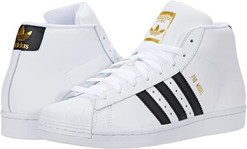 Footwear White/Core Black/Gold Foil