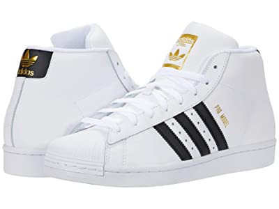 adidas Originals Pro Model (Footwear White/Core Black/Gold Foil) Men