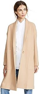 Vince Women's Collarless Long Coat