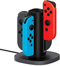 Nintendo Switch Joy Con Charging Dock by TalkWorks | Docking Station Charges up to 4 Joy-Con Controllers Simultaneously - ...