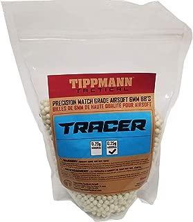 Tippmann Tracer Precision Match Grade 6mm Airsoft BB's Light Green