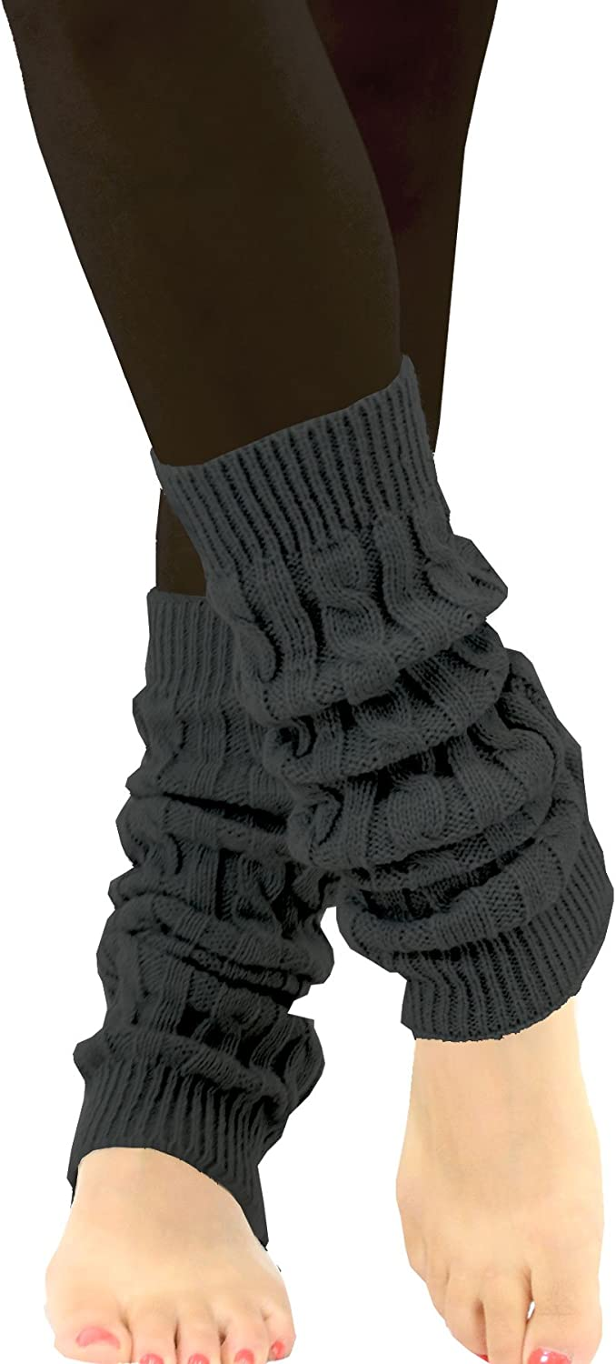 TeeHee Women's Fashion Boot Topper/Leg Warmers Assorted Value Pack