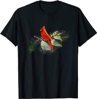 Wild Red Cardinal Bird T-Shirt