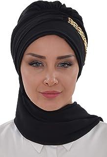 Instant Turban Lightweight Chiffon Scarf Head Turbans For Women Headwear