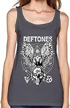 Deftones Gore Tour 2016 Concert Tank Top For Women DeepHeather M