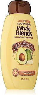 Garnier Whole Blends Nourishing Shampoo with Avocado Oil & Shea Butter Extracts, 22 fl. oz.