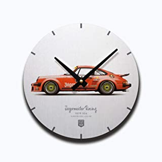 GarageProject101 Jägermeister 911 Carrera Type 934 Illustration Wall Clock