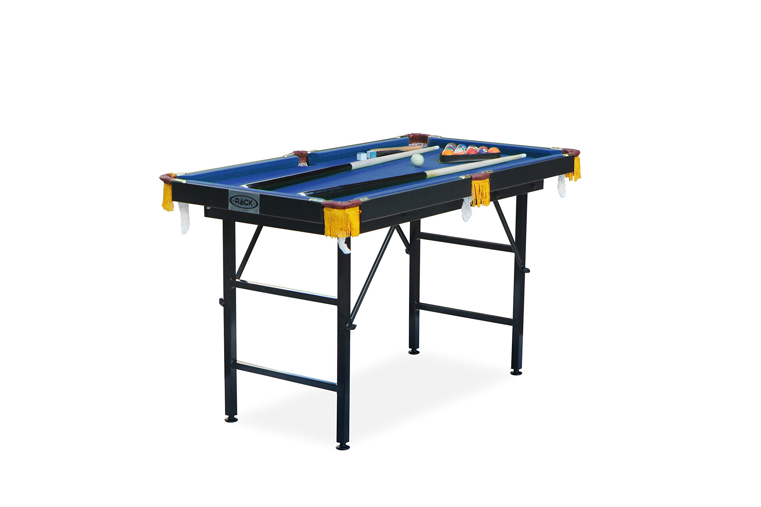 Rack Leo Mesa de Billar Plegable de 4 pies, Azul: Amazon.es ...