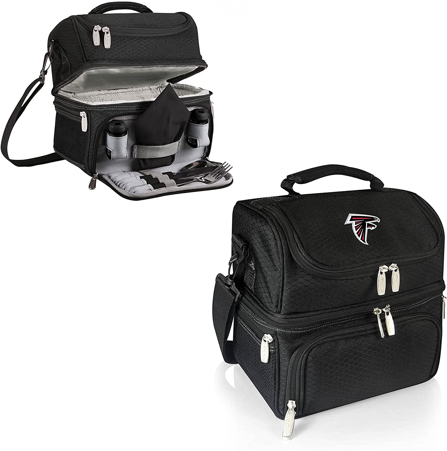 Max 86% OFF PICNIC TIME NFL Atlanta Falcons Tote Insulated Lunch Pranzo Import