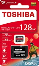 Best toshiba microsd 128gb Reviews