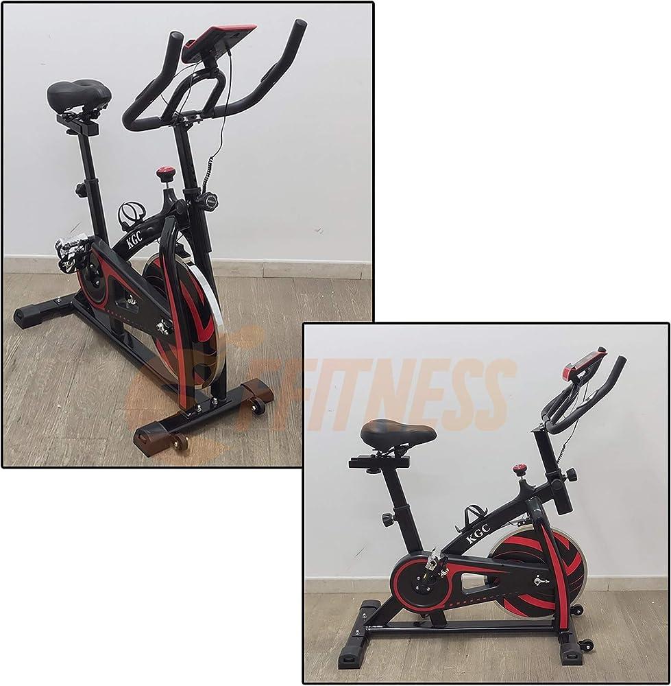 Fusaro moto, spinning bike, cyclette, cardiofrequenzimetro, computer da allenamento con display lcd