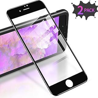 NBKASE Pellicole Protettive per iPhone SE 2020 iPhone 8 Anti-graffio 2 Pezzi Protezione per Schermo Vetro Temperato Compatibile con iPhone SE 2020 iPhone 7 iPhone 7 iPhone 8