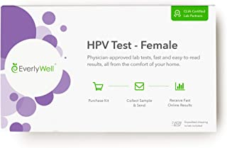 Everlywell - Female at-Home HPV Test – Physician Approved Lab Tests from The Comfort of Your Home (Not Available in MD, NY, NJ, RI)
