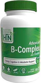 "Quantum-B""¢ Complete B-Complex High Potency with 550mg Choline, B1, B2, B3, B6, Folate, B12, Biotin, B5 - Sustained Releas..."