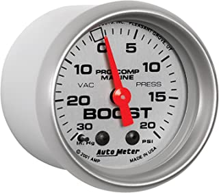AutoMeter Auto Meter 200774-33 Ultra-Lite Gauge, Vac/Boost, 2 1/16