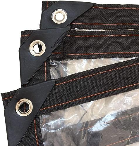 Bache imperméable de Tente de PE de bache de Prougeection de PE de bache extérieure imperméable légère extérieure Claire de bache de Prougeection avec des Oeillets, épaisseur 0.13mm