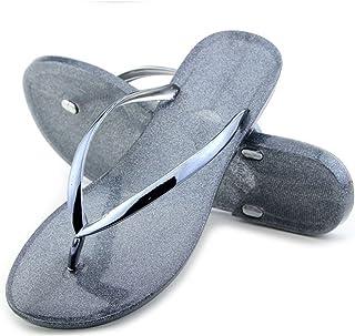 Flip Flops Beach Slippers Flat Jelly Sandals Thongs for Women