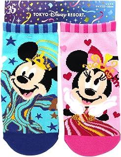 ディズニー リゾート 35周年 Happiest Celebration ! ソックス (22~25cm) ミッキー ミニー マウス 靴下 大人 キャラクター ウェア リゾート 限定