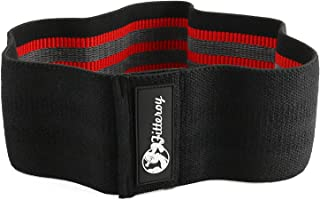 Fitteroy Grippy Circle Resistance Hip Band – Loop Glute Bands for Exercise Warm-ups – Squat Band for Stronger Glutes and Thighs