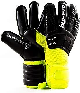 Buffon Goalkeeper Glove Warrior (Yellow - Black, 10)