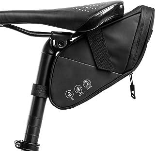 LAPACKER Bike Seat Bag Saddle Bag, Water Resistant Bike Bags Under Seat for Road Mountain,...