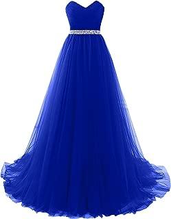 MILANO BRIDE Strapless Empire-Waist Long Prom Evening Dresses 2018 Affordable