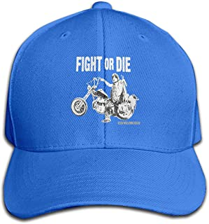 KAMEOR Design Unisex Walking Dead Daryl Dixon Fight Or Die Licensed Graphic Baseball Hats New Hat