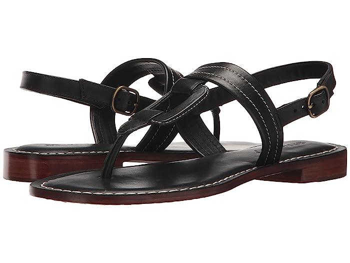 Bernardo  Tegan (Black Antique Calf) Womens Sandals