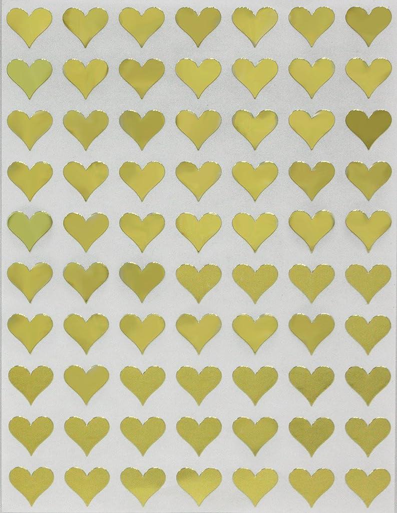 Heart Shape Adhesive Label 13mm (1/2