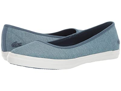 Lacoste Ziane Ballet 219 1 CFA (Blue/Off-White) Women