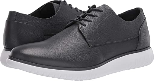 Grey Soft Tumbled Leather