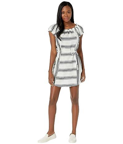 FIG Clothing Sun Dress (Black Stripe) Women