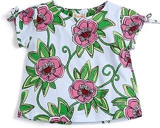 Camiseta Florescer Rosa - Toddler