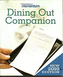Dining Out Companion: 2010 Edition (Weight Watchers Momentum)