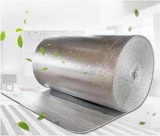 Aislamiento De Burbuja Lámina Térmica Mejorada Alta Densidad Doble Aluminio Loft Techo ático Pared Garaje Caravana Pisos D...