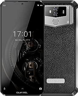 OUKITEL K12 10000mAh Battery Cell Phone 6.3 Inch Waterdrop FHD+ 19.5:9 Display Mobile Phone 6GB RAM 64GB ROM 4G LTE Dual SIM Smartphone International Unlocked 5V/5A 25W Fast Charger NFC Face ID Unlock