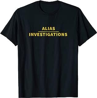 Alias Investigations - Office T-Shirt