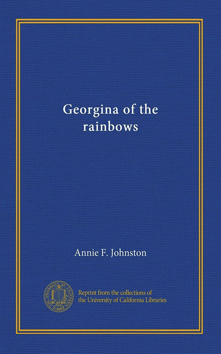 彼女の消費物質Georgina of the rainbows