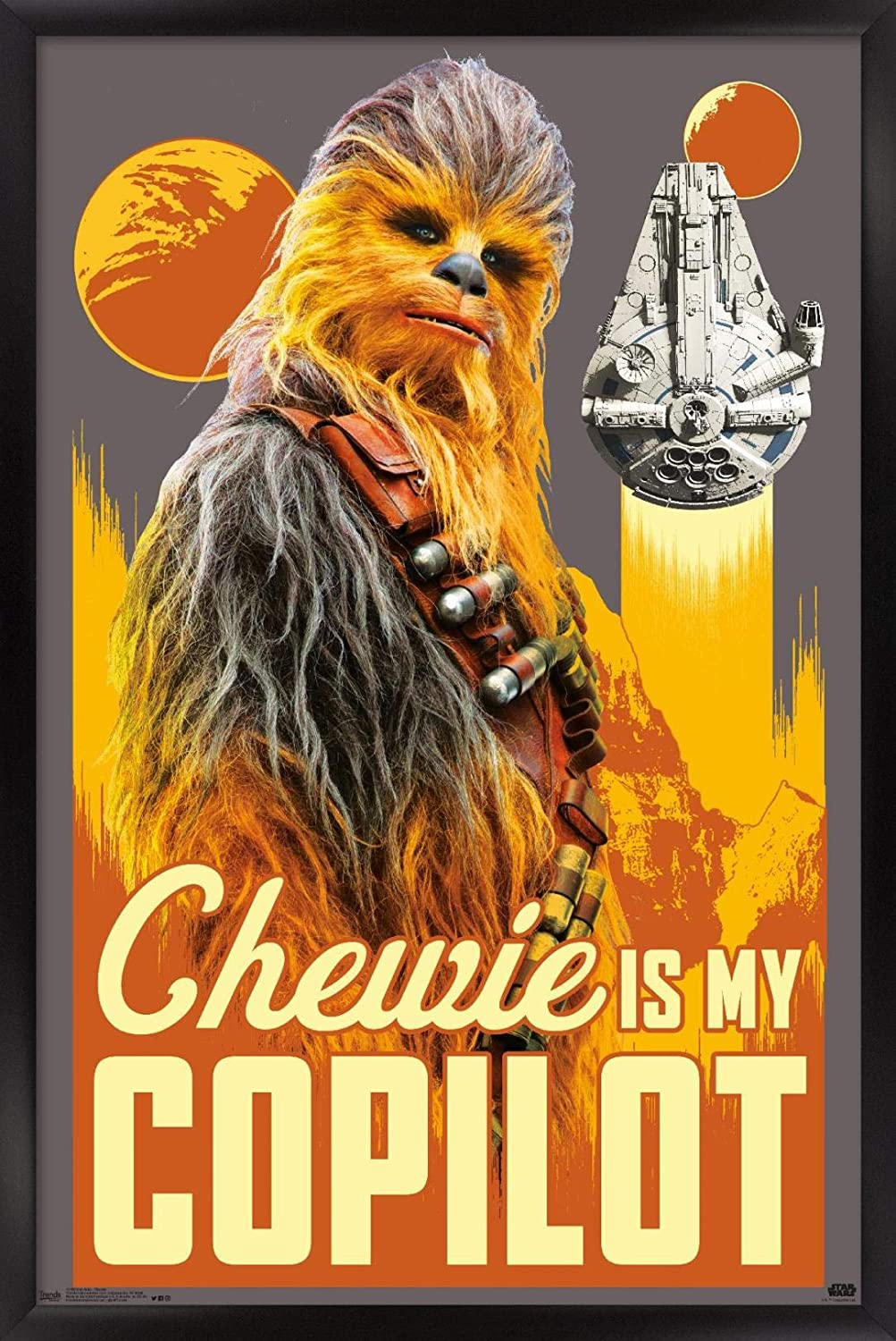New Orleans Mail order Mall Trends International Star Wars: Solo Chewie Poster - Wall 14.72