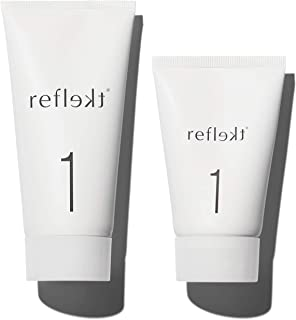 REFLEKT 1 - Daily Exfoliating Face Wash   Gentle Clean Hydrating Scrub with Hyaluronic Acid & Collagen   For All Skin Type...