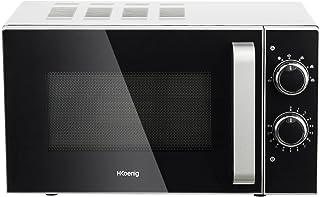 H.Koenig Micro-ondes Compact Design 20L VIO4 Puissant 700W, Plateau tournant 24,5cm, Multifonction 5 niveaux de chauffe et...