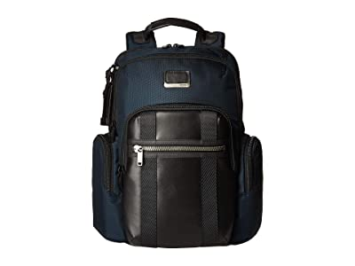 Tumi Alpha Bravo Nellis Backpack (Navy) Backpack Bags